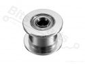 GT2 Gladde spanrol idler pulley 16T as 3mm voor  6mm riem