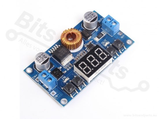 DC-DC Converter Buck Step Down Uin:4-40V Uout:1,25V-37V 2,0A LM2596 Display