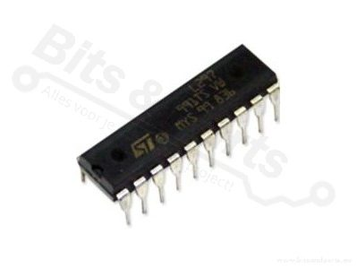 IC L297 Stappen-motor-controller