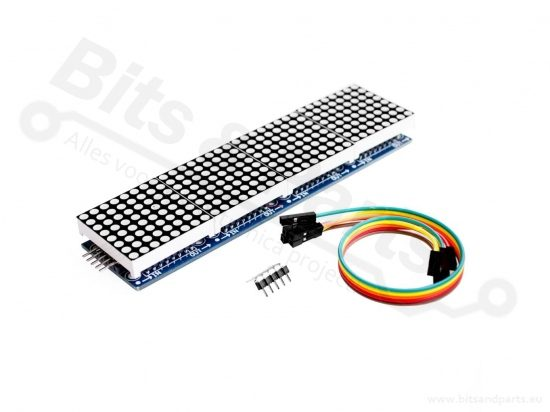 LED Matrix Display Module 8x8 4-voudig MAX7219
