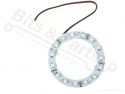 LED Ring 15 LEDs White 12V