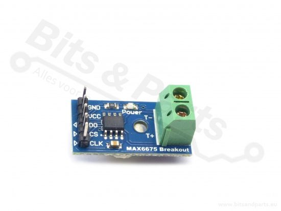 Thermocouple / Thermokoppel versterker MAX6675 breakout board SPI
