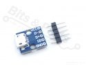 Micro USB adapter/breakout board