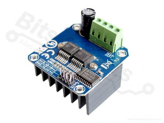 Motor driver module BTS7960 H-Bridge High Power 43A