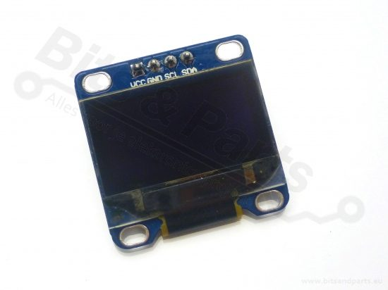 Display OLED 128x64 0,96 inch I2C/SPI Blauw
