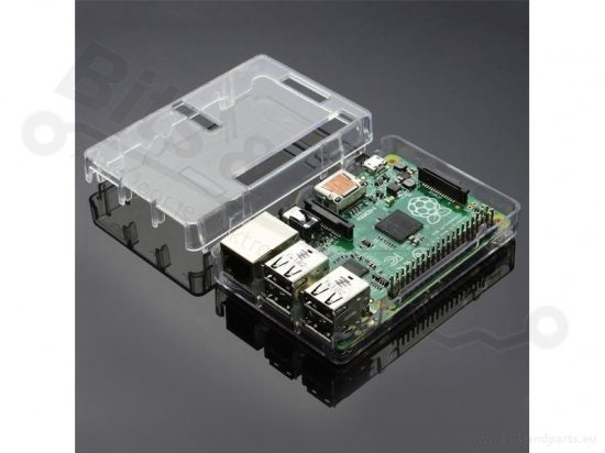 Behuizing / Case Raspberry Pi B+/2/3 ABS helder