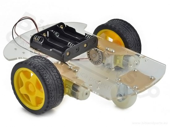 Smart Car Chassis 2WD met 2 motors