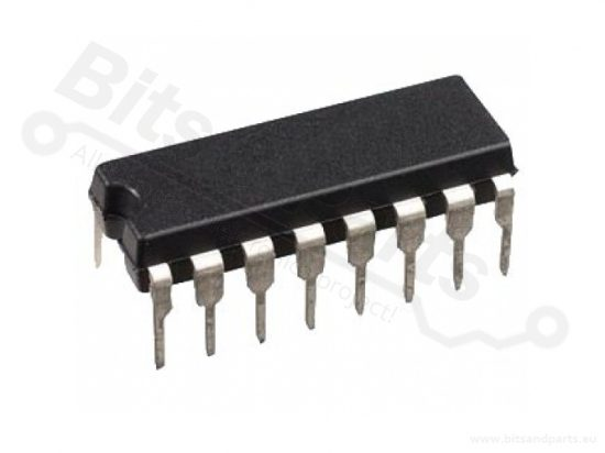 IC CD4050BE CMOS Hex non-inverting buffer / converters