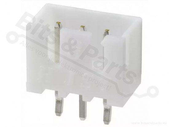 Box header JST XH 3-pin male connector 2,5mm