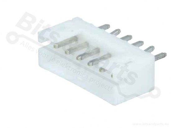 Box header JST PH 6-pin male connector 2mm