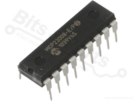 IC MCP23008 I/O Port Expander 8-bit I2C