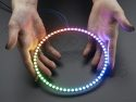 LED Ring NeoPixel - 1/4 60x WS2812 5050 RGB LEDs met drivers - Adafruit 176